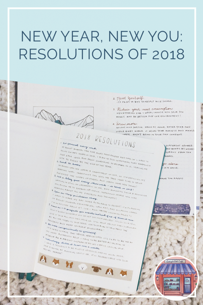 Cissy's Art Café - New Year, New You: Resolutions of 2018