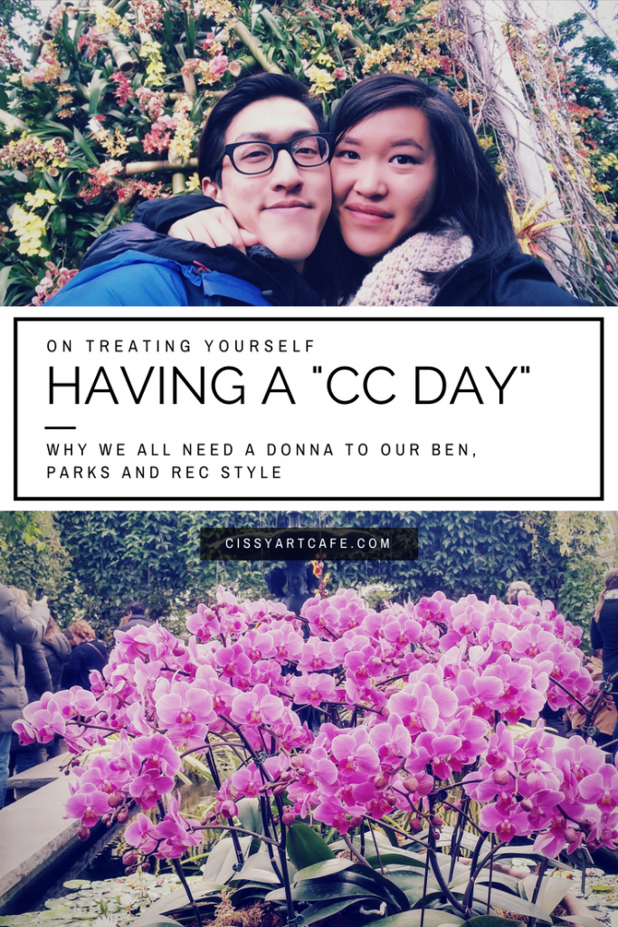 """On Treating Yourself: Having a """"CC Day"""""""