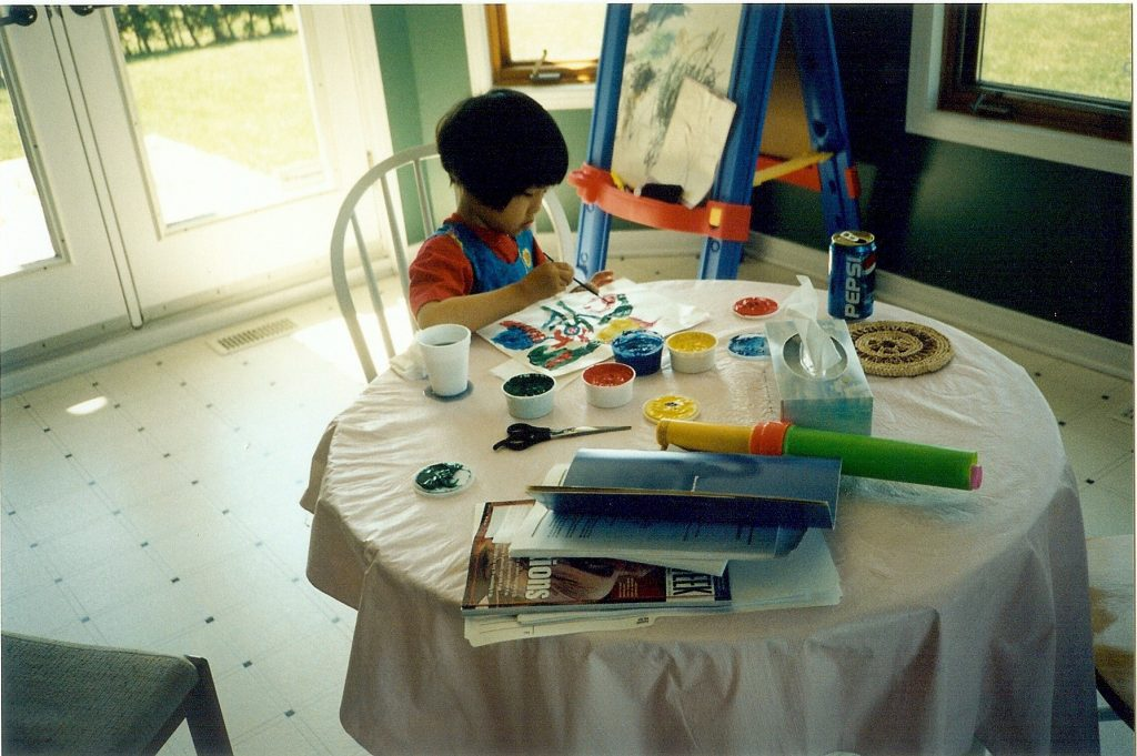 On the Thrills and Fears of Pursuing a Childhood Dream - Cissy's Art Café