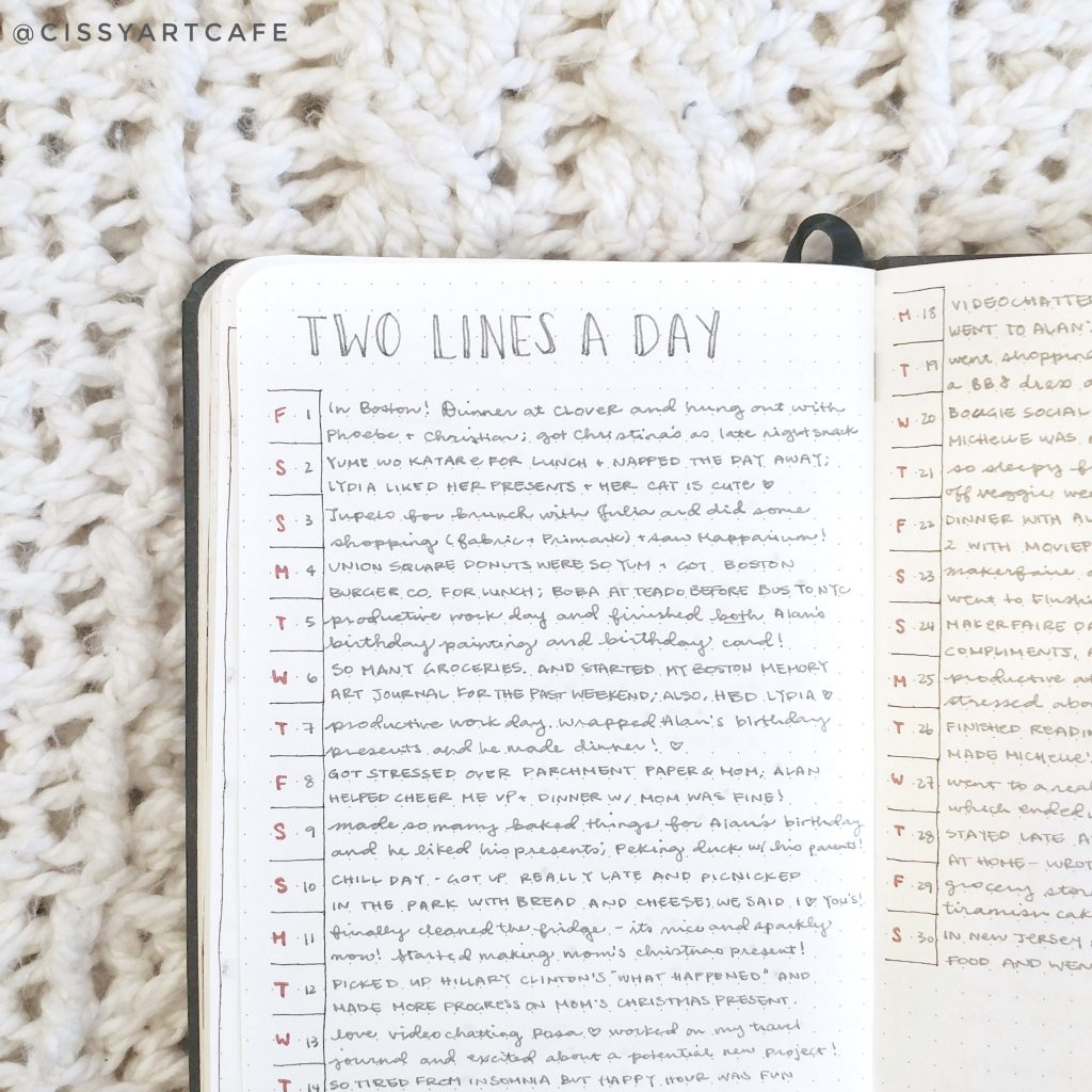 My Bullet Journal Journey: Northbooks - Cecile @ Cissy's Art Café