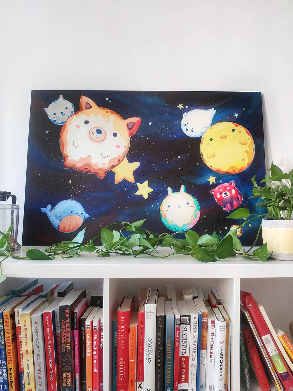 Illustrated Summer Favorites: Animal Planets Painting @ CIssy's Art Café