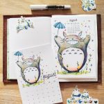 August Plan With Me: Totoro Edition @ Cissy's Art Café