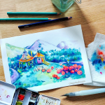 Paint With Me: Hagrid's Home @ Cissy's Art Café
