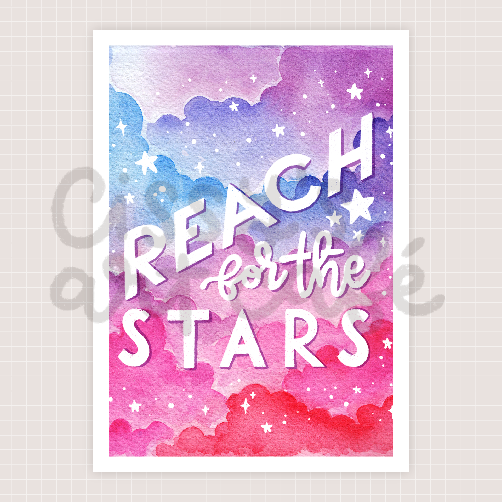 reach for the stars @ cissy's art café