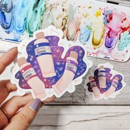 starry stationery stickers @ cissy's art café