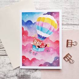 dream big card @ cissy's art café