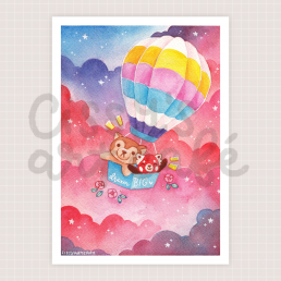 dream big art print @ cissy's art café