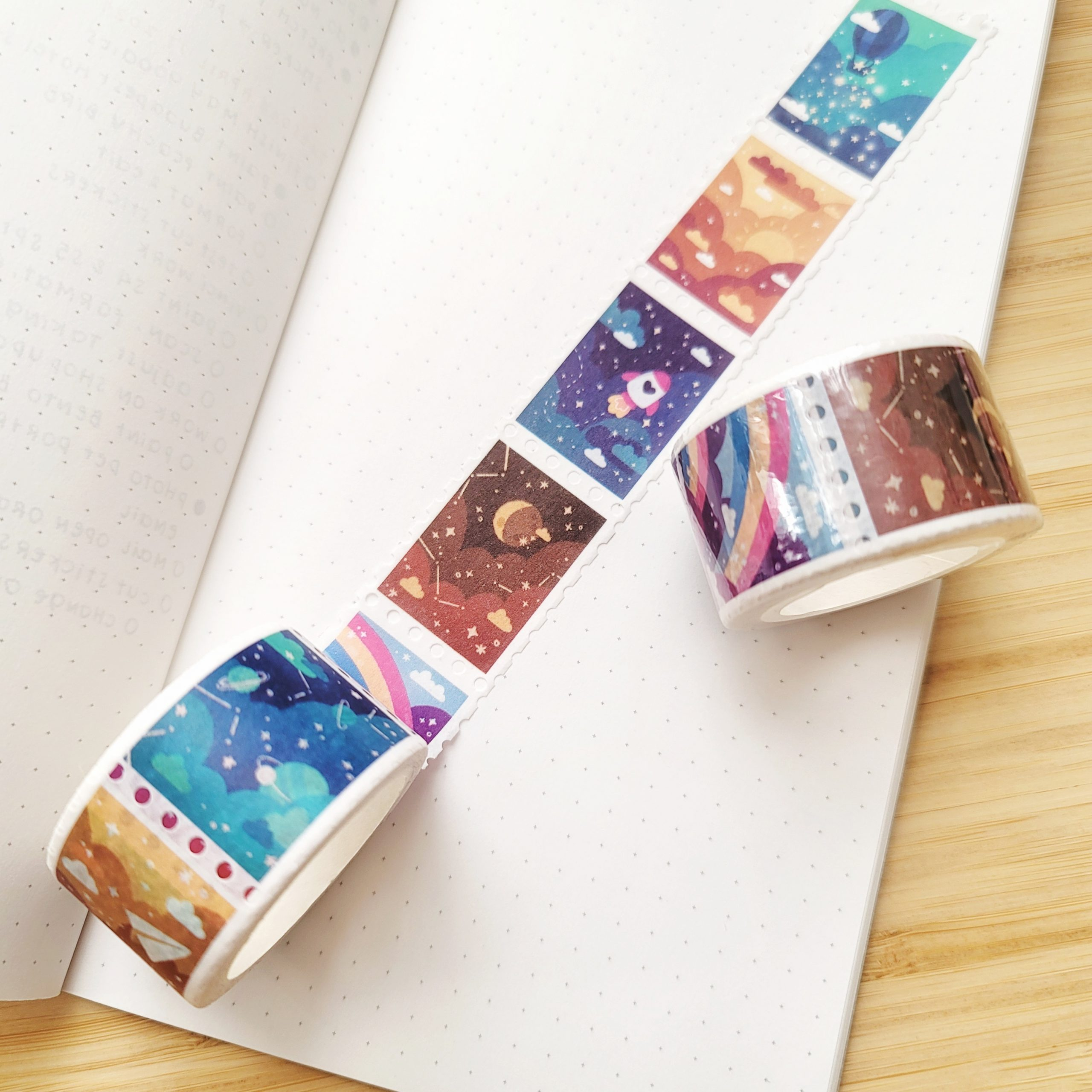 galaxy washi tape @ cissy's art café